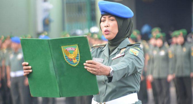 Kodam II/Sriwijaya Gelar Upacara Peringatan Hari Ibu