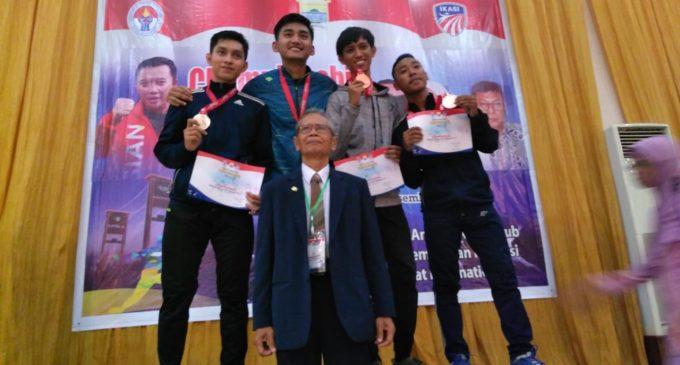 Zorro Sumsel Sapu Bersih Medali Sabre di Kejurnas Anggar Klub 2018