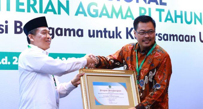 Serapan Anggaran Kemenag Sumsel Terbaik se-Indonesia