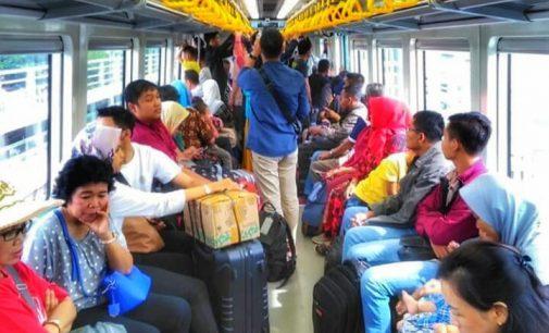Pengguna LRT Palembang Mendekati 1 Juta