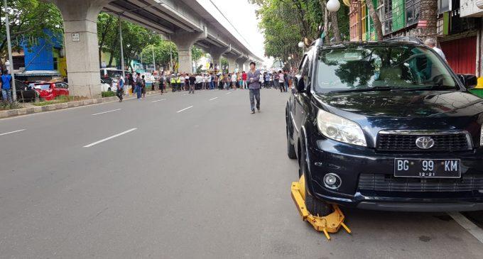 Warga Palembang Dukung Kebijakan Pemerintah Soal Pelarangan Parkir di Jalan Sudirman