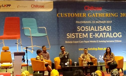 Chitose Customer Gathering Bahas Sosialisasi Sistem E – Katalog