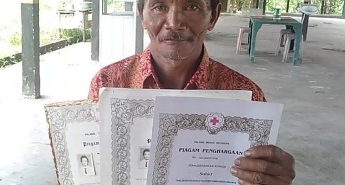 Donor Darah 108 Kali, Sohid di Undang Presiden ke Jakarta