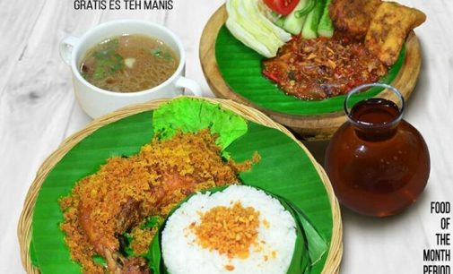 Ayam Kremes Emilia Hotel Palembang Hanya Rp 50 Ribu