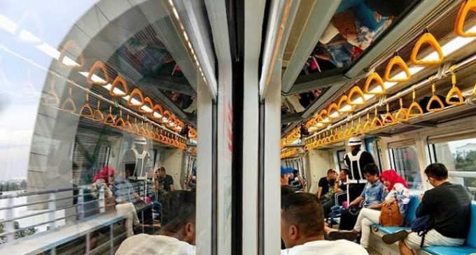 Subsidi LRT Palembang Rp 10 Milyar Perbulan