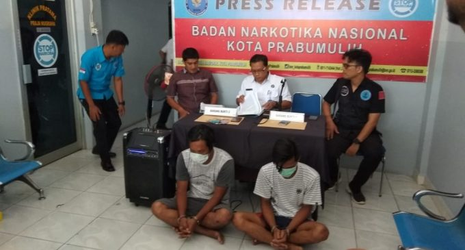 Penangkapan Dua Bandar Narkoba di Prabumulih Berlangsung Dramatis