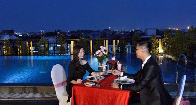 Makan Malam Valentine Romantis di The 1O1 Hotel