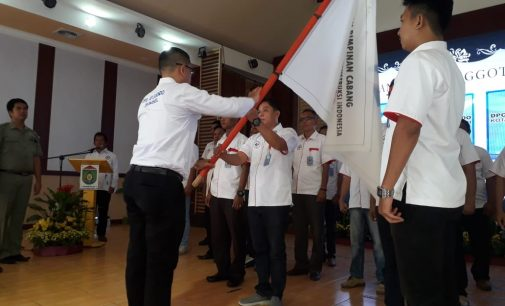Andriansyah Fikri Lantik DPC APJAKINDO Kota Prabumulih