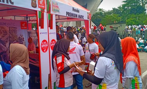 Astra Motor Sumsel Kampanyekan #Cari_Aman di South Sumatera Millennial Road Safety Festival