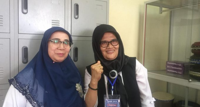 100 Persen Siswa SMKN 1 Palembang Ikuti UNBK