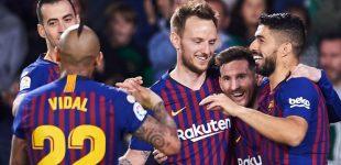 Blaugrana Diambang Juara La Liga 2018-2019
