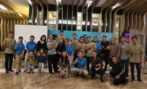 The 1O1 Palembang Peringati Earth Hour 2019