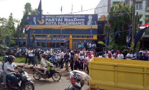 Di Palembang, Jokowi Kampanye Akbar di 14 Titik