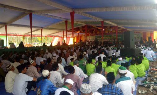 Gelar Pengajian Akbar, Ribuan Warga NU Muara Enim Juga Deklarasikan Dukungan Kepada Jokowi-Maruf Amin
