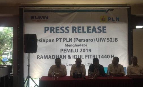 PLN UI S2JB Siap Jaga Pasokan Listrik Untuk Pemilu, Ramadhan, Idul Fitri dan UNBK