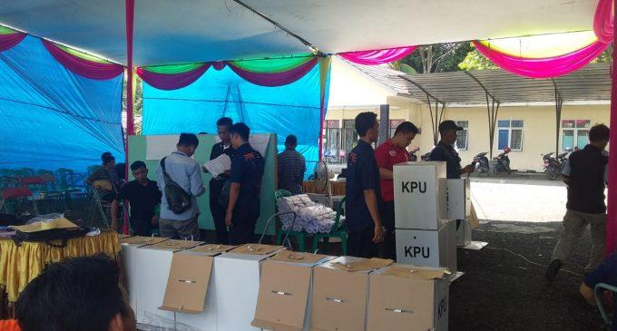 Partisipasi Pemilih Di Gunung Megang Capai 85,86 Persen