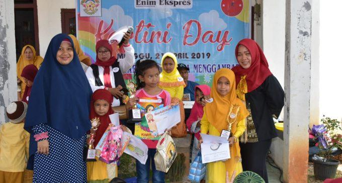 Meriahkan Hari Kartini, 150 Anak Usia Dini Ikuti Lomba Mewarnai