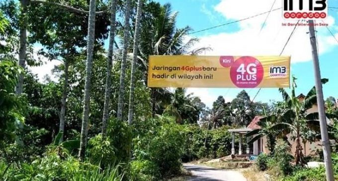 4G Plus Kuat Indosat Ooredoo Kini Hadir di Desa Sungsang
