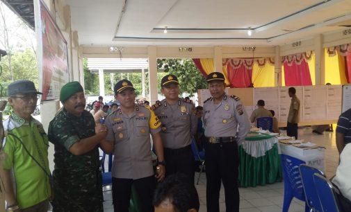 Alhamdulliah.. Semua Pam Linmas TPS di Kecamatan Gelumbang Dalam Keadaan Sehat