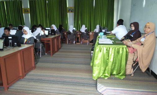 Pelaksanaan UNBK Hari Pertama di Tiga SMAN Ini Belum Temuin Kendala