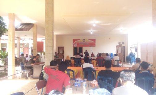 Proses Rekapitulasi Suara di Tingkat Kecamatan Berjalan Lancar