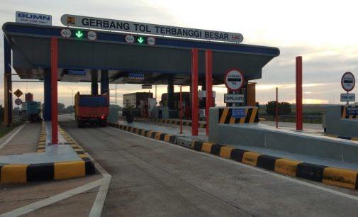 Tol Palembang – Lampung Bisa Dilalui Arus Mudik Lebaran 2019