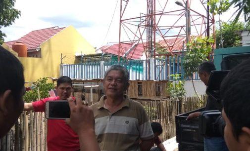 Warga Resah Tower Telkomsel Tak Dilengkapi Penangkal Pertir