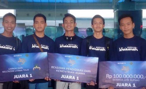 Patennya Mutu MAN 1 Palembang Hasilkan Gelar Nasyid Juara Nasional