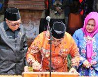 Bupati Muara Enim Resmikan Kecamatan Empat Petulai Dangku