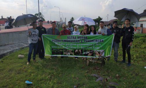 Aksi Peduli Lingkungan Bikers Honda
