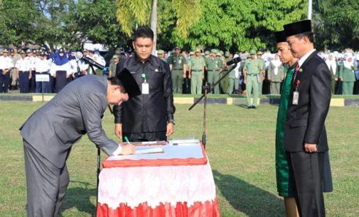 Jabat Sekda Kota Prabumulih, Ridho Nantikan Inovasi dan Gebrakan Elman