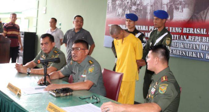 Prada DP Terduga Pelaku Mutilasi Vera Oktaria Ditangkap di Serang Banten