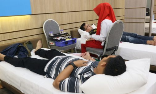 The 101 Palembang Rajawali Rutin Adakan Donor Darah