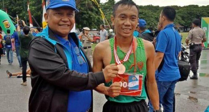 Prajurit Kodam II/Sriwijaya Rebut Medali Emas Lomba Lari 10 K