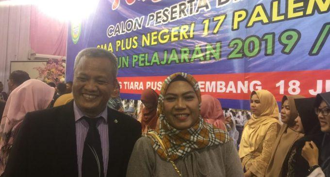 Pengukuhan Peserta Didik Baru Tahun Ajaran 2019/2020 SMA Plus 17 Palembang