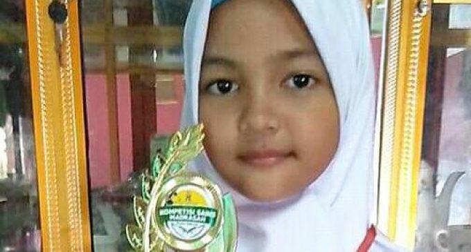 Relin Olivia, Juara 2 Lomba MTK KSM Muara Enim