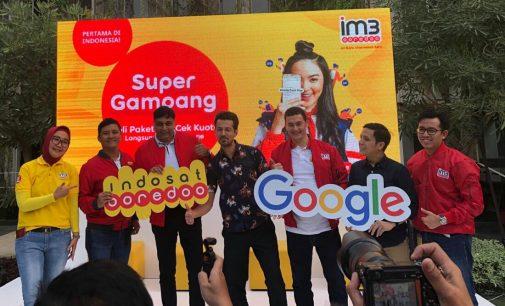 Indosat Ooredoo Gandeng Google Permudah Cek dan Beli Kuota Internet