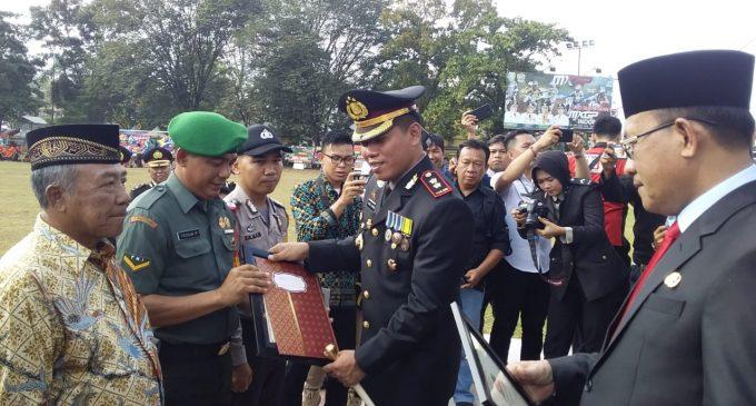 Polres Muara Enim Raih Prestasi Kepercayaan dan Kepuasan Publik Seluruh Indonesia