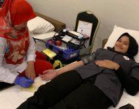 The Zuri Hotel Palembang Gelar Donor Darah Sambut HUT RI Ke 74
