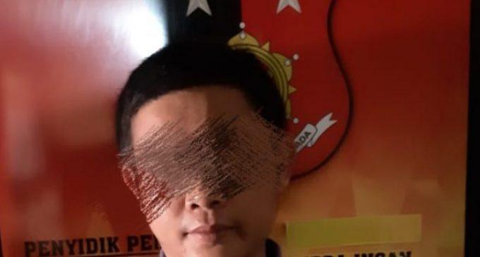 Nekat Pegang Payudara Tetangga, NR  Ditangkap Polisi