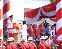 Ridho Yahya Pimpin Upacara Peringatan HUT RI Ke 74