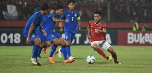 Timnas Indonesia U-15 Kalah 0-2 Dari Thailand