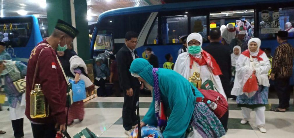 4.037 Jamaah Debarkasi Palembang Telah Kembali ke Tanah Air