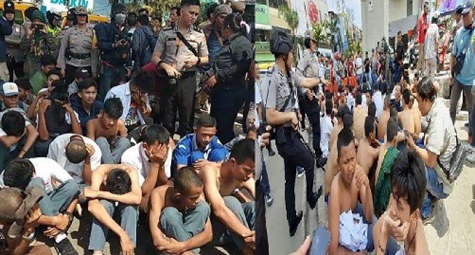 """Grup WA """"Bersatu Melawan DPR"""" Jadi Motivasi Pelajar Demo di BAM"""