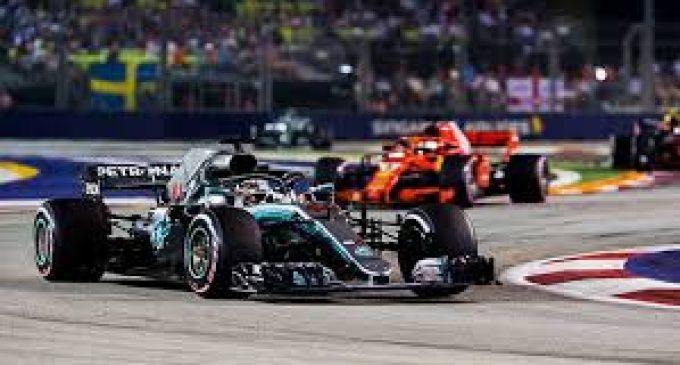 Kabut Asap Sumatera Ancam Formula 1 GP Singapura