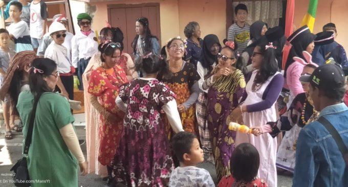 Gerak Jalan Lucu Yang Diadakan Karang Taruna Kelurahan Muara Enim Kocok Perut Penonton