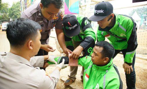 Bersama Korlantas Polri, Gojek Serius Kurangi Kecelakaan Lalu Lintas