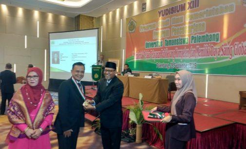 Yudisium ke XIII Unitas Palembang, Rektor : Penyandang Gelar Magister Harus Terbiasa Berfikir Antisipatif