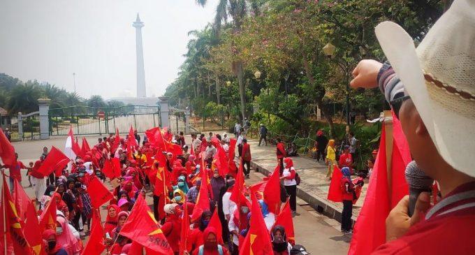 Serikat Rakyat Miskin Indonesia Menolak Kenaikan Iuran BPJS