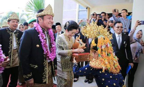 Gubernur Sumsel Hadiri Hari Jadi Kota Prabumulih ke-18